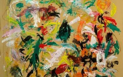 """David Colinas: """"Mi relación con la pintura ahora es de felicidad total"""""""