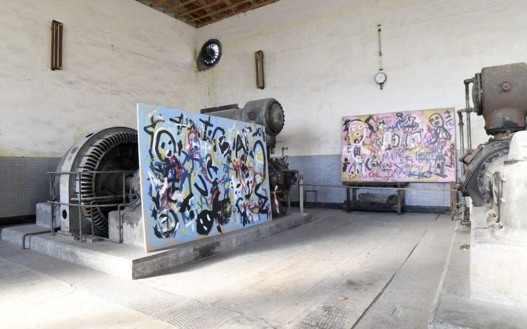 """David Colinas transforma el Pozo Julia de Fabero en un """"monasterio laico"""" en el que exponer sus 'Colinas de carbón'"""
