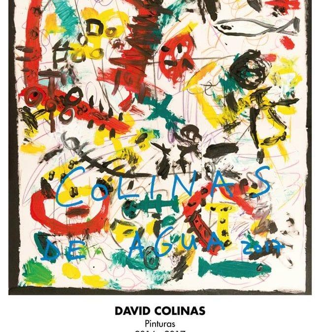 """""""Colinas de agua"""", una exposición de la pintura más reciente del leonés David Colinas en el Museo de León"""