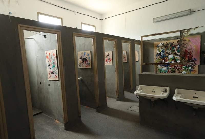 El Pozo Julia convertido en galería… de arte